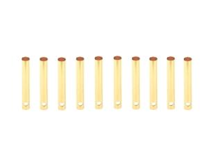 10 Stück 2mm Goldkontakt Buchsen lang